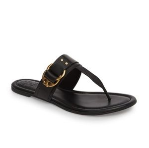 NWOB Tory Burch Marsden Flat Thong Sandal Size 8.5